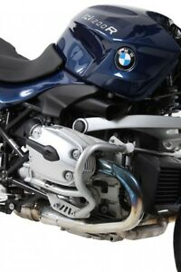 BMW R 1200 R ab Bj 11 Classic Motorrad Motorschutzbügel Hepco Becker silber NEU