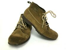 Sorel Greely Boots Mens Size 10.5 Chukka 1524421218 Brown Suede