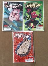The Amazing Spider-Man #698 #699 #700 1st Prints