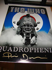 Quadrophenia en Persona Firmado 12x16 - Jimmy - Phil Daniels (Dorado)