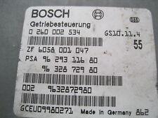 Getriebesteuergerät Peugeot 406 0 260 002 534 96 293 116 80 0260002534 962931168