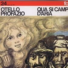 LP FOLK CETRA QUA SI CAMPA D'ARIA OTELLO PROFAZIO