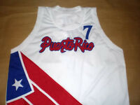 CARLOS ARROYO TEAM PUERTO RICO BASKETBALL JERSEY QUALITY SEWN NEW  ANY SIZE