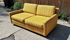 Vintage MCM Directional Milo Baughman-Style Settee