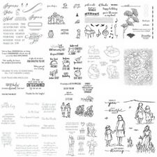 Father's Day Greetings Clear Rubber Stamps Stamping Seal Diy Scrapbooking Crafts