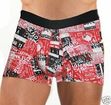 MENS BOYS FUN UNDERWEAR PINK FLOYD BRIEFS SHORT NO FLY R9 MEDIUM A1