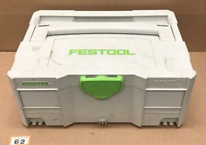 Festool Systainer SYS 2 T-Loc Stackable Tool Box Case (62)