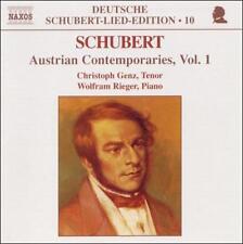 Schubert: Austrian Contemporaries, Vol. 1 by Christoph Genz CD NEW SEALED