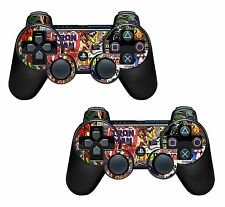 2x Comics Superhero Playstation 3 (PS3) Controller Sticker / Skin / 3ps5