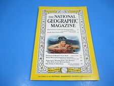 National Geographic Magazine October 1959, Hawaii's Coral Reefs Antarctica Swans