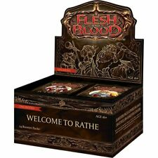 Flesh and Blood TCG Welcome To Rathe Unlim. Booster Box Display + Ira- Deck OVP