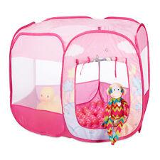 Bällebad Einhorn mit 100 Bällen Spielzelt rosa Pop Up Ballpool Indoor Outdoor