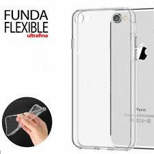 "Funda Gel Silicona Transparente Proteccion Antigolpes para iPhone 8 4.7"""
