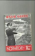guida turistca d' epoca oslo guide norvege