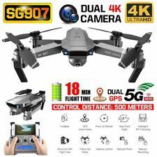 SG907 5G WIFI 4K GPS RC Drone Quadcopter con 1 batterie Borsa 2021 Nuovo O3G4