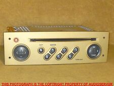 RENAULT MODUS 2004 - 2006 TUNER LIST SOFT GOLD CD PLAYER WITH CODE. RENRDW136-00