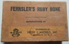 FERNSLER'S RUBY RAZOR HONE IN ORIGINAL BOX