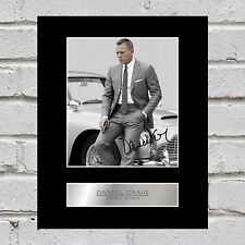 Daniel Craig Signed Photo Display James Bond 007 #1