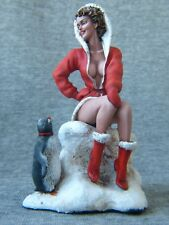 Andrea Pin Up Girls: Santa's Gift 80 mm. Elite tin soldiers St. Petersburg