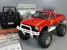 Tamiya 1/10 Toyota Mountain Rider Pick Up+ Novak ESC Motor +LED Unit +2.4G Radio