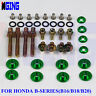 Engine Fender Washer Screw Valve Cover Bolts Honda B B-Series B16 B18 B20 Rsx gr