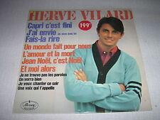 HERVE VILARD 33 TOURS FRANCE CAPRI C'EST FINI