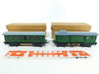 BV851-0,5# 2x Trix Express H0/DC Packwagen/Personenwagen: 20/151 + 20/152, OVP