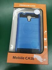 Hybrid Kyocera Hydro C6743 Reach Blue Fitted Hard Case New Ships Free