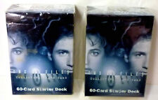 X-Files CCG 2nd Edition 2 Sealed Random Starter Decks lot 1996 US Games