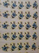Ceramic decals China blue flower 1 inch bits