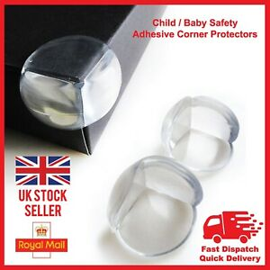 Clear Baby Child Proof Table Corner Edge Protector Safe Guard Cushion Protectors