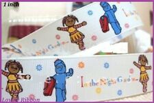 2 metres, IGGLE PIGGLE, In The Night Garden, 25mm, Ribbon, Upsey Daisy, 1 inch