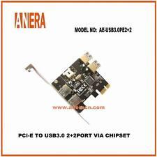 Brand New 2 port usb 3.0 pcie card - Anera AE-USB3.0PE2+2P
