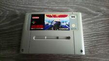 U.N. Squadron Jeu Game Spiel Super NES Nintendo snes PAL SNSP-E8-ITA