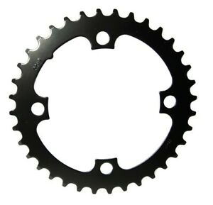 Chain Ring SS 36T 104 Steel Matte Black, 11.6215.098.000
