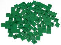 LEGO - 100 x Fliese Kachel 1x1 grün / Fliesen / Green Tile / 3070b NEUWARE (L9)