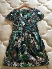 french connection Dress With Pockets Jungle Floral Print