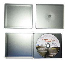 50 Shell CD H/üllen Zum Abheften CD Shellbox in Muschel Form mit Abheftlochung aus PP Kunststoff Farblos unzerbrechlich