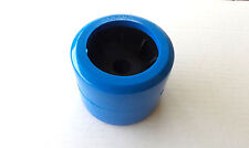 """BOAT TRAILER WOBBLE ROLLERS 4"""" BLUE SMOOTH x 6"""
