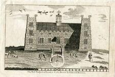 Inglaterra. The Prospeet of Lumley Castle dibujado por Edward Barrass