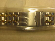 A NEW SPEIDEL 18-22mm TWO TONE WATCH BAND # 151DT