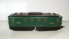 LOCOMOTIVE ELECTRIQUE BB-8144  VERTE MECCANO 6386 HO MADE IN FRANCE SNCF (15x3,5
