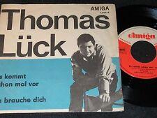 THOMAS LÜCK Es kommt schon mal vor & Ich brauche dich / DDR SP 1967 AMIGA 450614