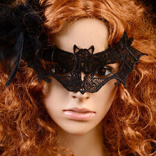 Sexy Black Lace Bat Mask Masquerade Ball Halloween Party Fancy Dress Costume Hot
