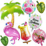 Flamingo Pineapple Fruits Foil Balloon Birthday Summer Party Balloons Supplies