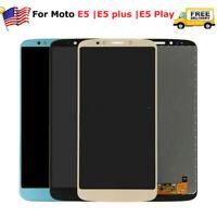 For Motorola Moto E5 | E5 plus | E5 play LCD Screen Digitizer +frame replacement