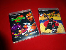 EMPTY CASES!  NBA Jam Extreme  - Space Jam  - PS1 Sony PlayStation 1, 1997