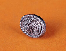30X 15*12mm Silver Floral Florentine Celtic Rope Edge Oval Rivets Craft Concho