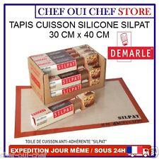 Tapis feuille de cuisson pâtisserie en silicone SILPAT 30x40cm - Demarle - NEUF