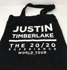 Justin Timberlake The 20/20 Experience World Tour. Black tote bag